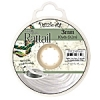 Rattail Cord 3mm 10 Yds With Re-useable Bobbin White